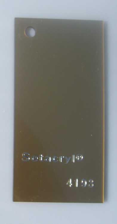 Metallic  Acrylic  4193 Gold 3 mm