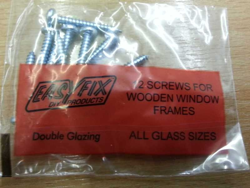 Secondary glazing Woodscrews