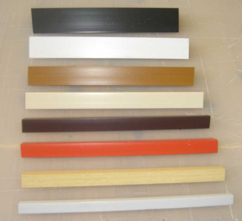 Extruded upvc 50mm Angles 8ft