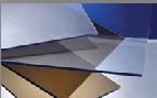U-PVC EXTRUDED SHEET CLEAR-BLUE TINTED 3 m x 1.5 m x 3