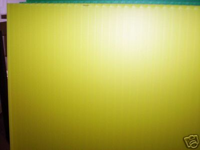 Correx Yellow 1.22 m x 1.22m 4mm