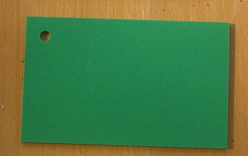 Pvc Standard Coloured Foam Sheet 602 Green 3 mm 2440 mm  1220 mm