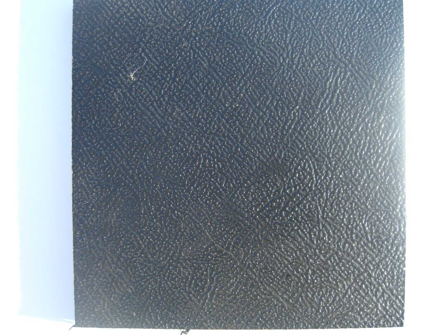 PPC LEATHER GRAIN PROPYLEX EXTRUDED SHEET BLACK 2.44m 1.22m 6 mm