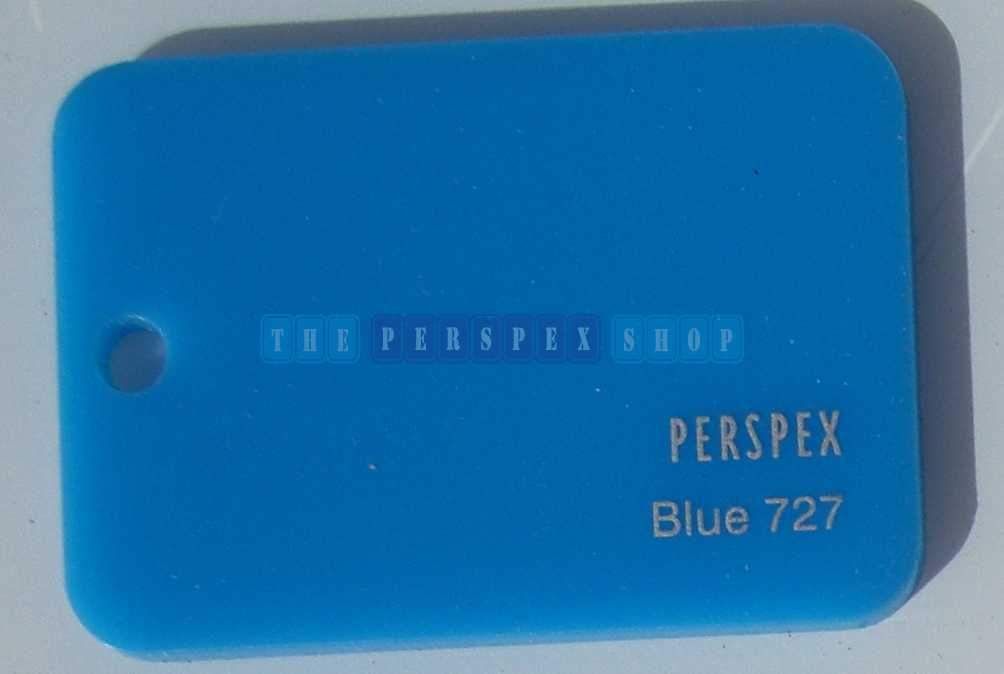 Perspex Cast Acrylic 3mm 2030 x 1525 Blue 727