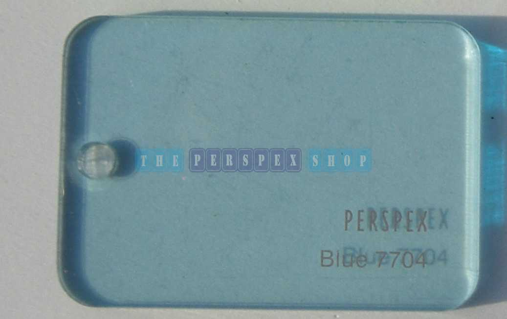 Perspex Cast Acrylic 3mm 2030 x 1525 Blue 7704
