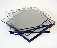 Clear Polycarbonate sheet 0.75 mm 2050 mm 1250 mm