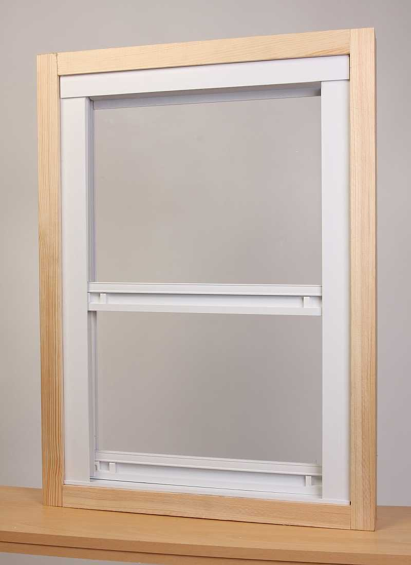 UPVC vertical sash height 1220mm