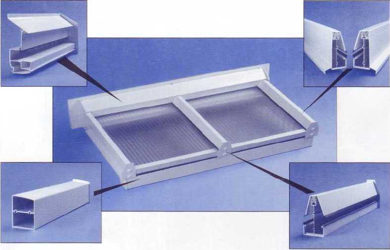 Self Supporting Glazing System