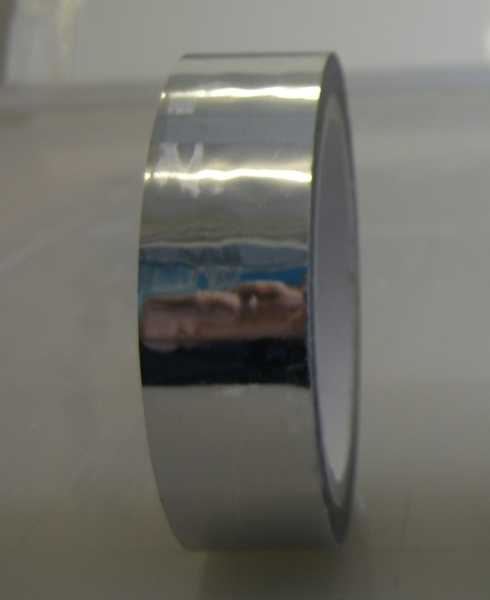 38mm Solid Tape 50.00m Silver