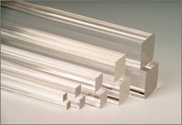 Extruded Acrylic Square Bar 10x10 mm