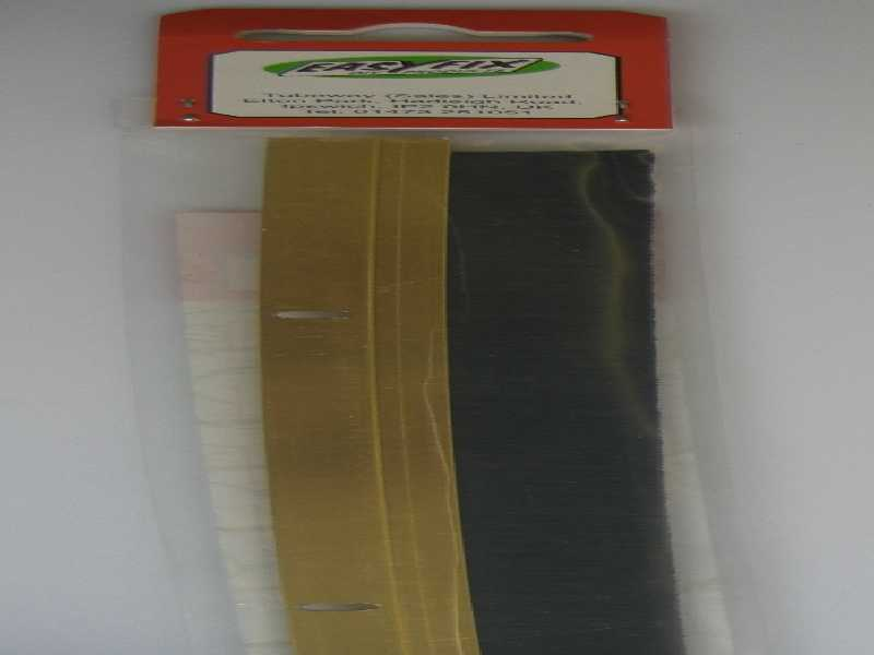 Door Draught Excluder Brush Gold Alum