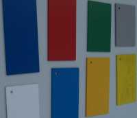 Foam UPVC Sheet Colours